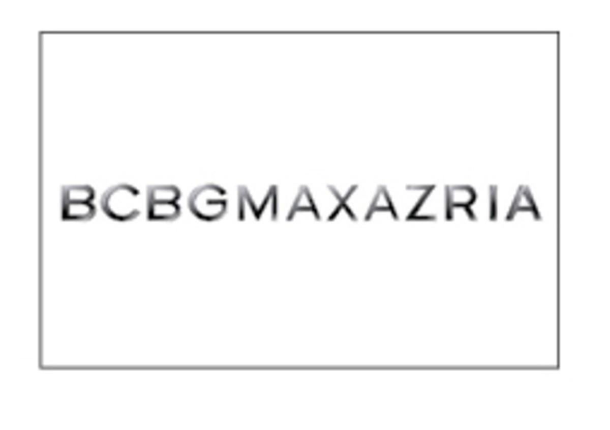 BCBGMAXAZRIA 3PC logo plaque - POP