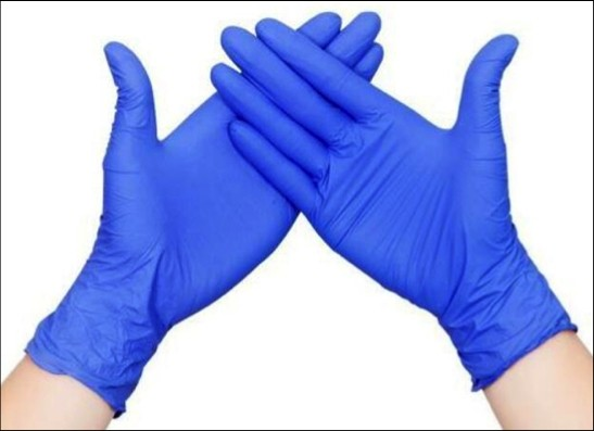NITRILE GLOVES - XL-LARGE (BOX of 100)