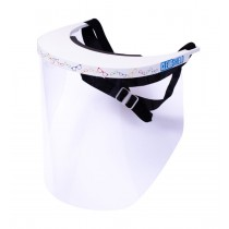 ClearShield Deluxe Face Shield with Eyeglass Pattern