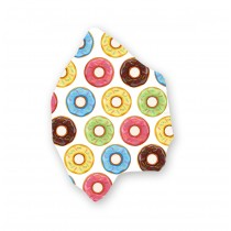 STREETWEAR COTTON FACE MASK - DONUTS (with eyeglass sprinkles)