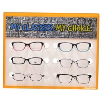 CLEARVISION 6PC KIDS DISPLAY