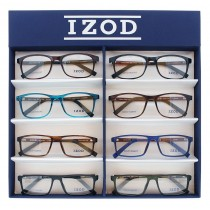 IZOD 8PC TRAY DISPLAY