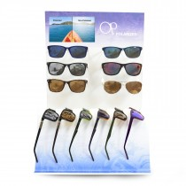 OCEAN PACIFIC 12 PC POLARIZED DISPLAY (with VIDEO)